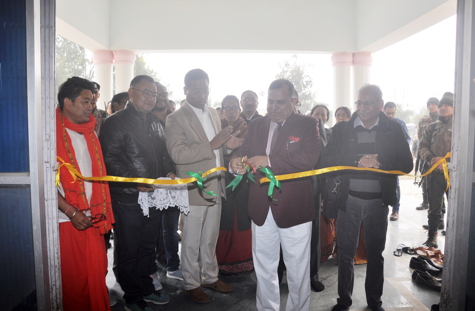 House Warming Ceremony of Manipur University International Guest House