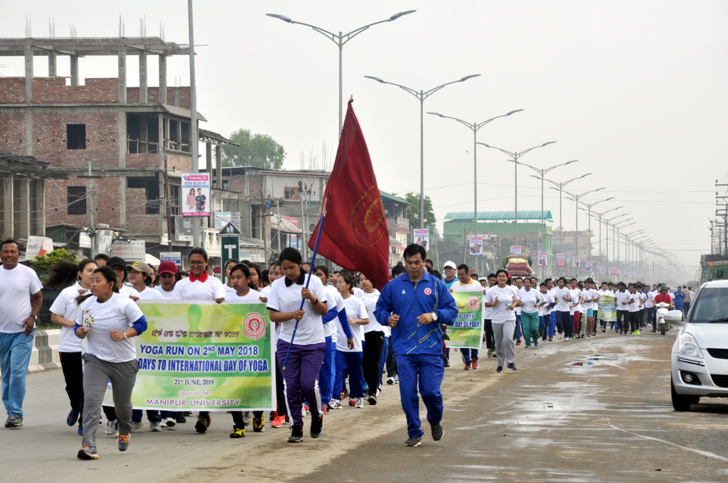 YOGA RUN-2018 FLAGGED OFF